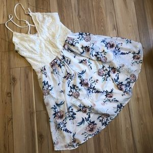 NWOT SPRING DRESS size small